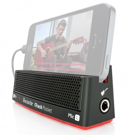 Carte son Focusrite I-Track Pocket special I phone