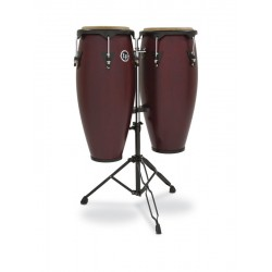 Set de congas LP city LP646NY-DW Dark wood