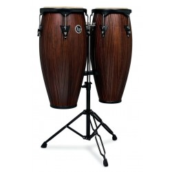 Set de congas LP city LP646NY-CMW Carved Mango
