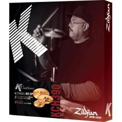 Pack cymbales Zildjian K Custom Hybrid 14, 21 - 17