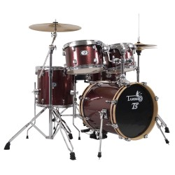 Batterie d'étude Tamburo T5 jazz junior 18 Red Sparkle