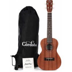 Ukulele Player Pack Concert Cordoba