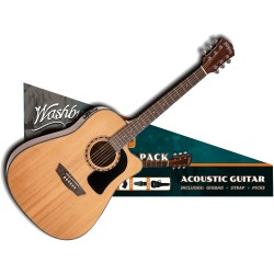 Pack guitare électro Washburn AD5CE