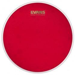 Peau de caisse claire 14 Evans hydraulique rouge sablée