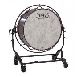 Grosse Caisse de concert ADAMS 40 x 18 sur stand avec cercle de suspension