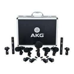 Kit micros pour batterie AKG DrumSet Session 1