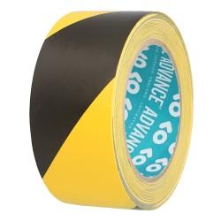 Adhésif Sécurité noir/jaune Advance Tapes 50mm x 33m
