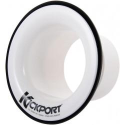 Event booster de grosse caisse KICKPORT blanc