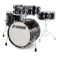 Batterie Sonor AQ2 Stage 22 Transparent Stain Black