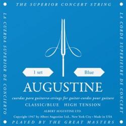 Cordes de guitare classique Augustine Bleues