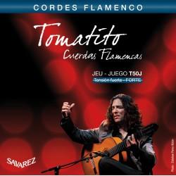 Cordes de guitare classique Savarez Tomatito tiran fort T50J