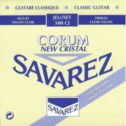 Cordes de guitare classique Savarez Corum bleu tirant fort 500CJ