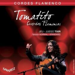 Cordes de guitare classique Savarez Tomatito tiran normal T50R