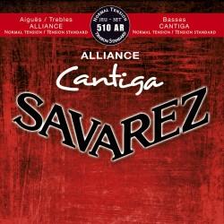 Cordes de guitare classique Savarez Cantiga 510AR