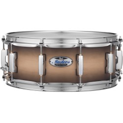 Caisse claire Pearl Master Maple complete 14x6.5 satin natural burst