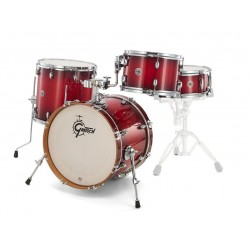 Batterie Gretsch Catalina club Jazz 18 Gloss Crimson Burst