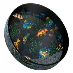 Tambour Ocean Drum Remo 16 x 2.5 Fish design
