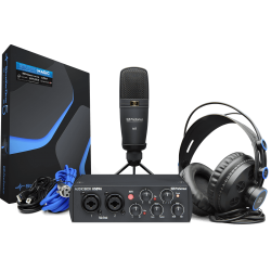 Bundle home studio Presonus Audiobox 96 studio 25ème anniversaire