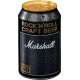 Bière 4,6% Marshall Lager - tête 8 canettes 33cl