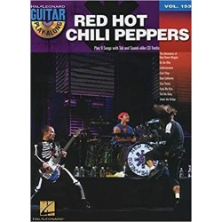 Guitar Play along Red Hot Chili Peppers vol 153 CD
