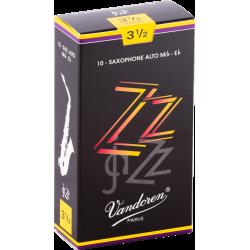Boite de 10 anches saxophone alto Vandoren ZZ force 3.5