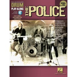 Drum Play Along The Police volume 12 CD