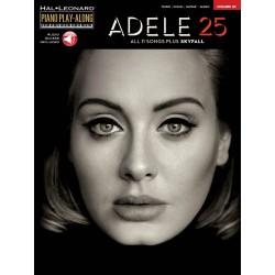 Piano Play along Adele 25 avec audio en téléchargement