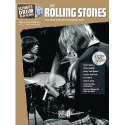 Ultimate Drum play along Rolling Stones avec 2 CD