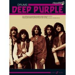 Drum play along Deep Purple avec CD