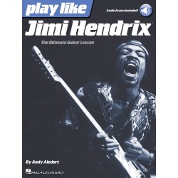 Play like Jimi Hendrix avec audio en ligne