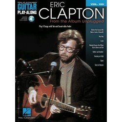 Guitar Play along Eric Clapton unpluged vol 155