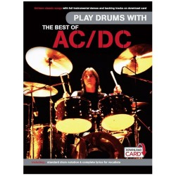 Play drums with AC/DC best of