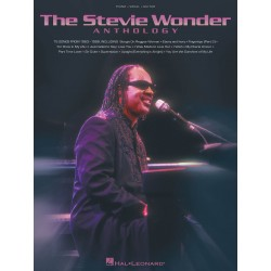 The Stevie Wonder Anthology piano vocal guitare