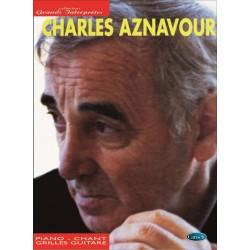 Partition Charles Aznavour collection Grands interprètes