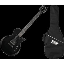 Pack guitare électrique LTD EC10 noire satinée
