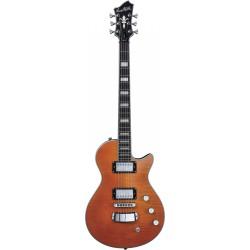 Guitare électrique Hagstrom Ultras Max Milky Mandarin