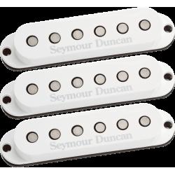 Kit micros simples Seymour Duncan Custom SSL-5 capots blancs