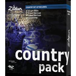 Pack cymbales Zildjian K Country