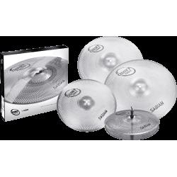 Pack cymbales Sabian Quiet tone 14 16 18 20 pouces