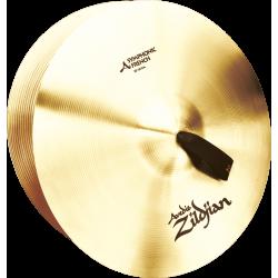 Paire de cymbales a mains Zildjian Avedis symphonic french 18