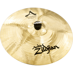 Cymbale Zildjian A custom  medium crash 16