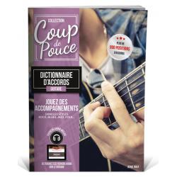 Dictionnaire accord guitare Coup de Pouce
