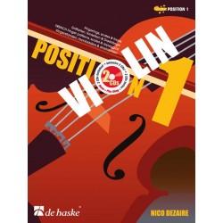 Méthode Violin position 1 Nico Dezaire