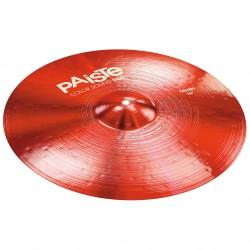 Cymbale Crash Paiste 900 color sound Red 16 pouces