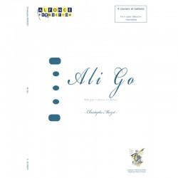Ali Go composition pour 5 percussion Christophe Merzet