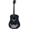 Guitare folk Lag Tramontane Wings Hell Dreadnought