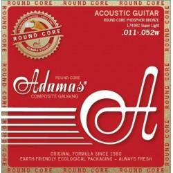 Cordes acoustique Adamas Round Core 11-52 1749C