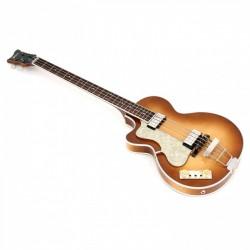 Basse électrique gaucher Hofner Club Bass 500/2 LH sunburst