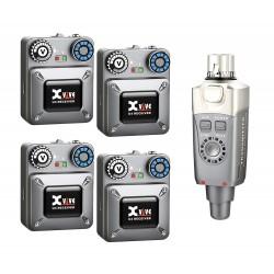 Système HF in ear monitor X vive U4R4 2.4Ghz quatre récepteurs