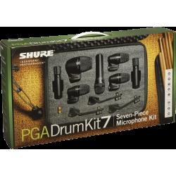 Set de micros de batterie Shure PGA Drum kit 7